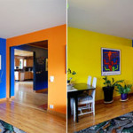Modern Colorful House Painting Interior Decor Ideas
