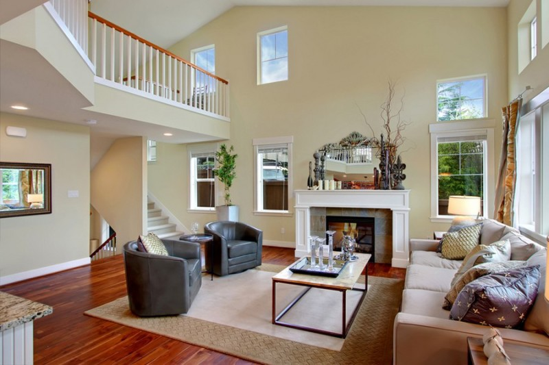 Neutral Paint Colors For Decorating Room High Ceilings And