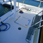 New Deck And Epoxy Urethane Repaint Motor Vessel