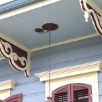 New Orleans House Paint Colors Burgundy And Cream See More