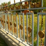 Not Your Typical Tom Sawyer Fence That Needs Painted