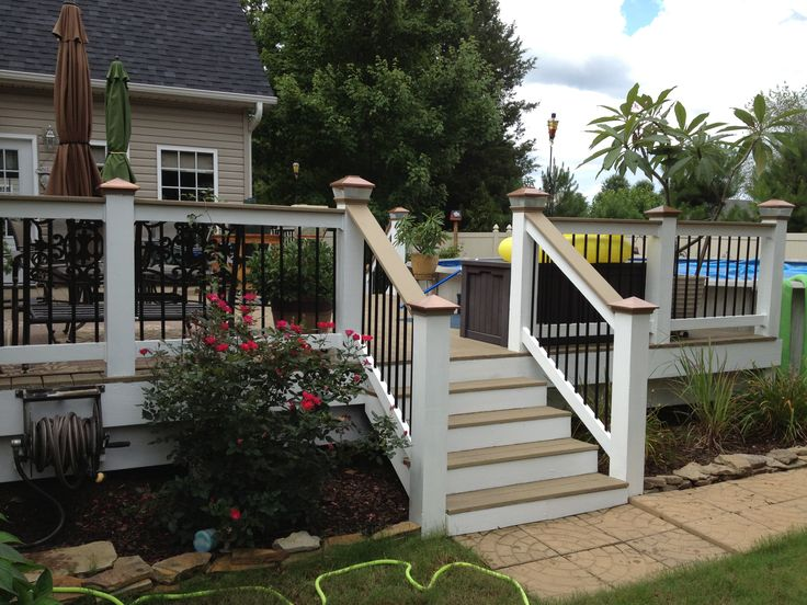 Our Newly Refinished Deck Done Restore Paint From Lowes Color