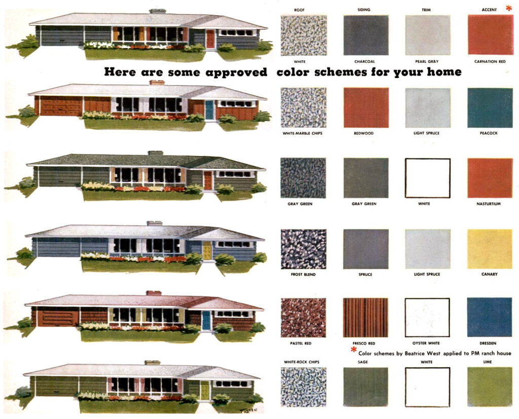 Outside Paint Colors For House