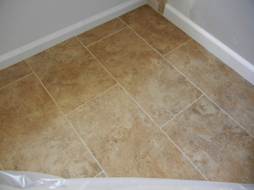 Paint Ceramic Tile Beautiful Brown Accent Porcelain