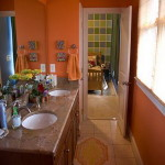 Paint Color Ideas For Small Bathroom Orange Finding Painting