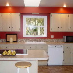 Paint Color Kitchen Red Wall