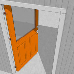 Paint Exterior Door Step