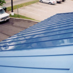 Paint Metal Roof Restored Protected