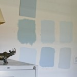 Paint Swatches Color Several Walls Account For Changes