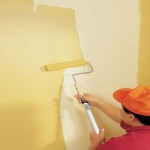 Paint Walls Trim First Gently
