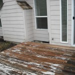 Painted Deck Virtually Impossible Completely Strip