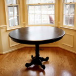 Painted Furniture Ideas Tables Oval Shape