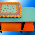 Painted Modern Coffee Tables Design Ideas Homes Gallery