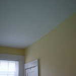 Painted Office Ceiling