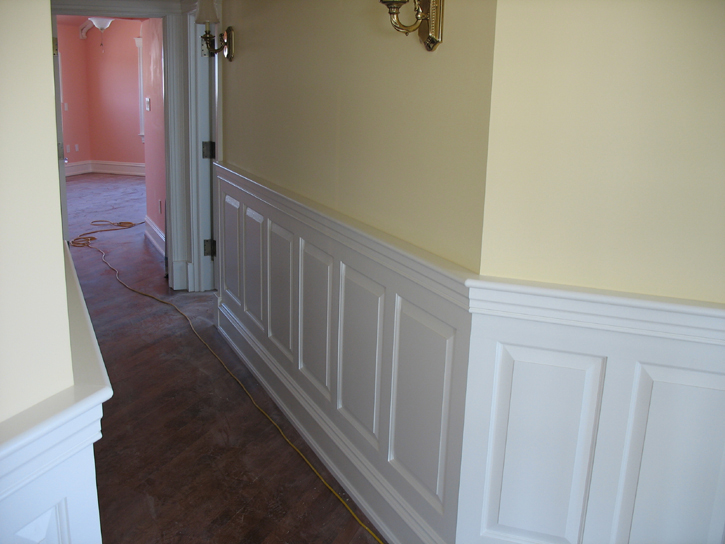 Painted Wainscoting
