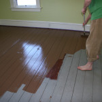 Painted Wood Floors Will Liven Your Home How Diy