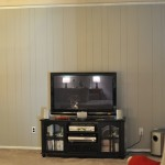 Painted Wood Paneling