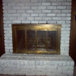 Painting Brick Fireplace Ideas Simple White