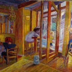 Painting For Sale Bar Interior Art Impressionism Other