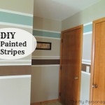 Painting Horizontal Stripes Walls Diy