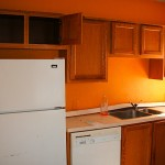 Painting Kitchen Cabinets Color Ideas Paint For Wall Orange