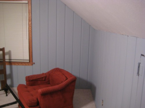 Painting Over Knotty Pine Paneling Complete Master Bedroom Redo