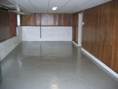 Painting Professional Painters After Basement Floor Epoxy