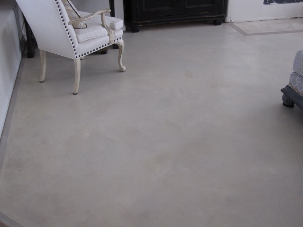Painting Stripes Concrete Floors