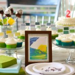 Painting Themed Birthday Party Ideas From The Picket Fence