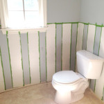 Painting Walls Two Colors Split Chair Rail Diy Images Pictures