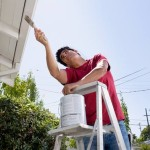 Painting Your House Exterior Laborious But Makes Big Statement
