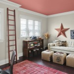 Pop Color The Ceiling Walls Revere Pewter