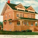 Postcard Chicago Carter White Lead Company House Painting