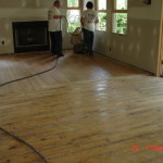 Pre Sanded Floors After Sanding And Finishing