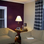 Purple Living Room Paint