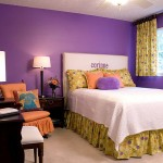 Purple Wall Paint For Girls Bedroom