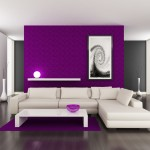 Purple Wall Paint For Living Room