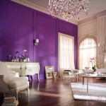 Purple Wall Paint Ideas For Living Room