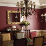 Red Paint Color Dining Room