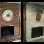 Reluctance Paint That Brick Fireplace
