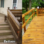 Remove Deck Stain Create New How From