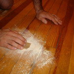 Revisted Diy Painted Wooden Floor