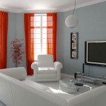 Room Accent Wall Paint Color Ideas For Living