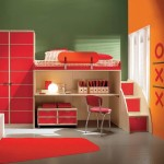 Room Color Scheme Combination Entrancing Bold Red Painted