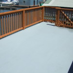 Rubberized Waterproof Deck Coating Floating Home