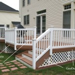 Savings Solid Reliable Board Space Under Raised Deckfind Composite