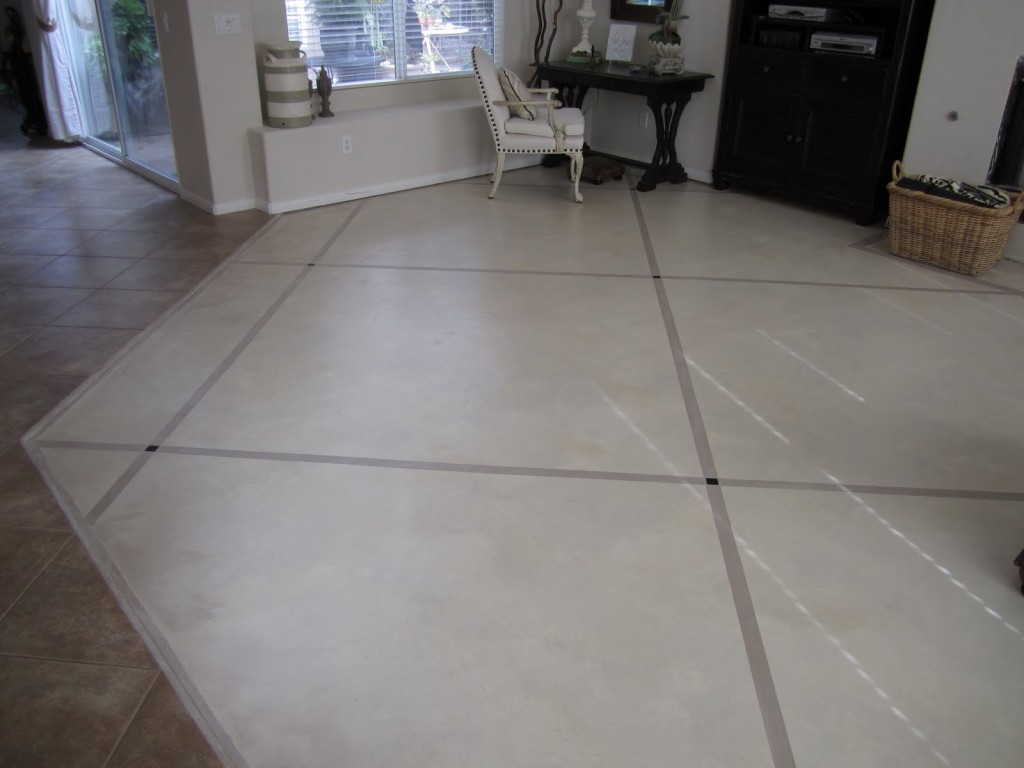 Step Instructions How Prep And Paint Concrete Floors
