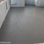 Step Pouring The Basement Concrete Slab