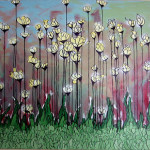 Surreal Lilies Painting Stephen Vandyke Flickr