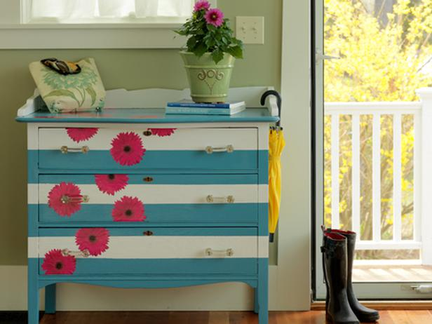 Susan Teare Painted Dresser Horizontal